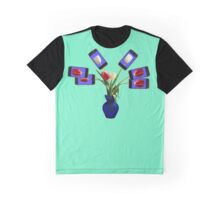 iphone flowers in vase Graphic T-Shirt