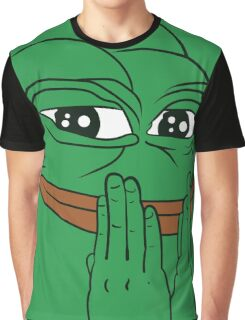 """Pepe The Frog """"FEEL GOOD"""" Graphic T-Shirt"""