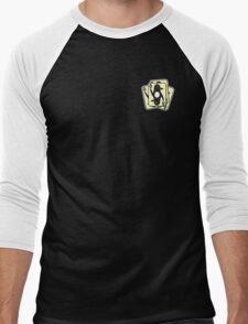 Shuffling Penguins [Small] Men's Baseball ¾ T-Shirt