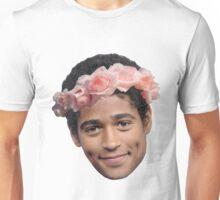 Alfred Enoch Flower Crown Unisex T-Shirt