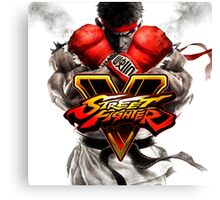 Street Fighter 5 Game Canvas Print