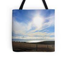 Blue Sunset Tote Bag