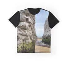 The gap in the cliffs Graphic T-Shirt