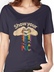 Show Your Love NC Women's Relaxed Fit T-Shirt