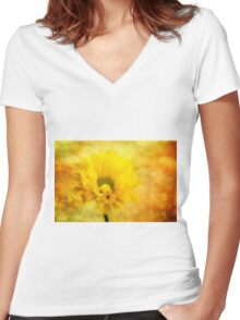 Field of Dreams Women's Fitted V-Neck T-Shirt