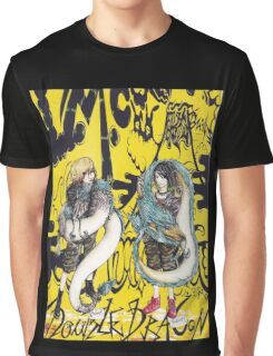 LM.C Double Dragon, white tiger and lion Graphic T-Shirt