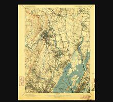 USGS TOPO Map New Jersey NJ Paterson 255303 1903 62500 Unisex T-Shirt