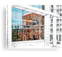 Reflected Architecture Metal Print