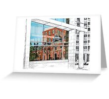 Reflected Architecture Greeting Card
