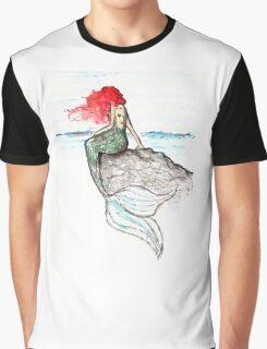 Mermaid - intense color version Graphic T-Shirt