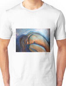 weiblicher Akt, kauernd Unisex T-Shirt