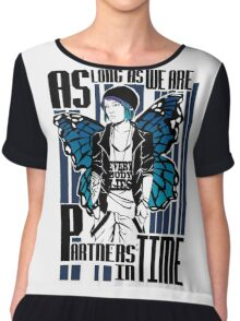 Partners in time - Chloe Price Chiffon Top