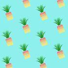 Pineapple Pattern by TearsFromVenus