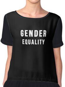 Gender Equality Chiffon Top