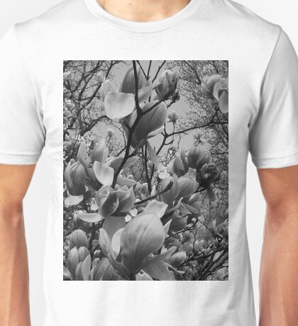 Spring in black and white..in a brave new world Unisex T-Shirt