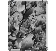 Spring in black and white..in a brave new world iPad Case/Skin