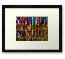 Flags of the Prayer Framed Print