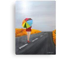Sprinkled Stroll   160410 Canvas Print