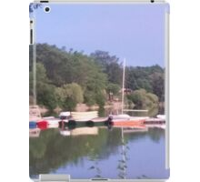 Sailboats ready for use iPad Case/Skin