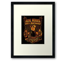 Great Firefighter Framed Print