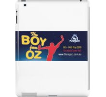 Regals - THE BOY FROM OZ - Banner iPad Case/Skin