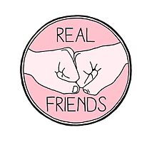 real friends Photographic Print