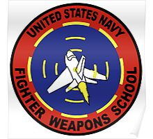 US Navy Top Gun Logo Poster
