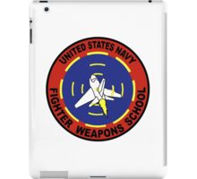 US Navy Top Gun Logo iPad Case/Skin
