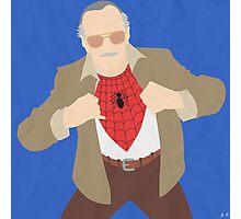 Stan Lee (Simplistic) Photographic Print