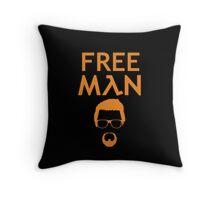 Gordon Freeman (Gold) Throw Pillow