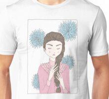 Floral Girl II Unisex T-Shirt