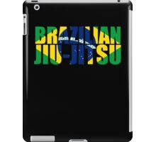 Brazilian Jiu Jitsu Flag (BJJ) iPad Case/Skin