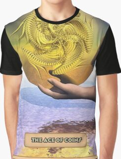 The Ace of Coins Graphic T-Shirt