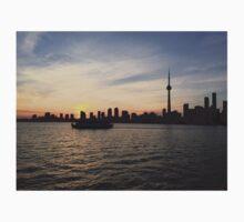 Toronto Cityscape Sunset Kids Tee