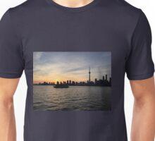 Toronto Cityscape Sunset Unisex T-Shirt