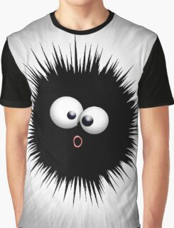 Funny Ink Splat Cartoon  Graphic T-Shirt