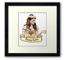 Belle French - Beauty Queen Framed Print