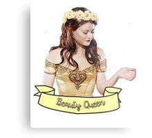 Belle French - Beauty Queen Metal Print