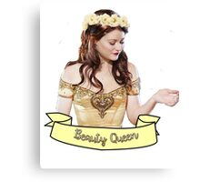 Belle French - Beauty Queen Canvas Print