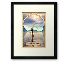 The Ace of Swords Framed Print