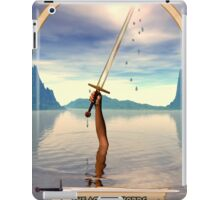 The Ace of Swords iPad Case/Skin
