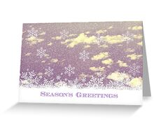 Christmas Collection II - Snow Flakes - JUSTART © Greeting Card