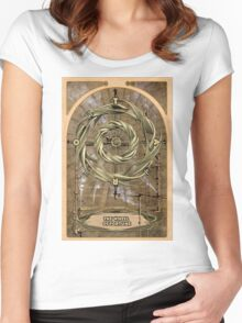The Wheel of Fortune Women's Fitted Scoop T-Shirt