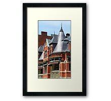 The Tops of Newbury Framed Print