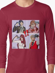 Persona 3 All Out Attack Long Sleeve T-Shirt