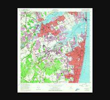 USGS TOPO Map New Jersey NJ Long Branch 254538 1954 24000 Unisex T-Shirt