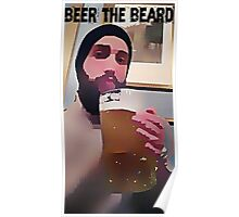 beer the beard Poster