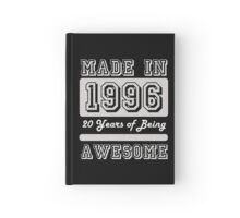 Made in 1996 Hardcover Journal