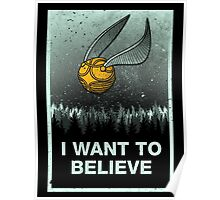 I want to believe in magic Poster