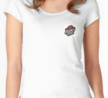 PIZZA SLUT  Women's Fitted Scoop T-Shirt